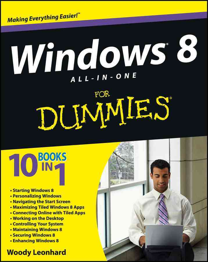 Windows 8 All-in-One for Dummies By Leonhard, Woody